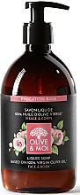 Kup Mydło w płynie z oliwąz oliwek, Róża - Saryane Olive & Moi Liquid Soap