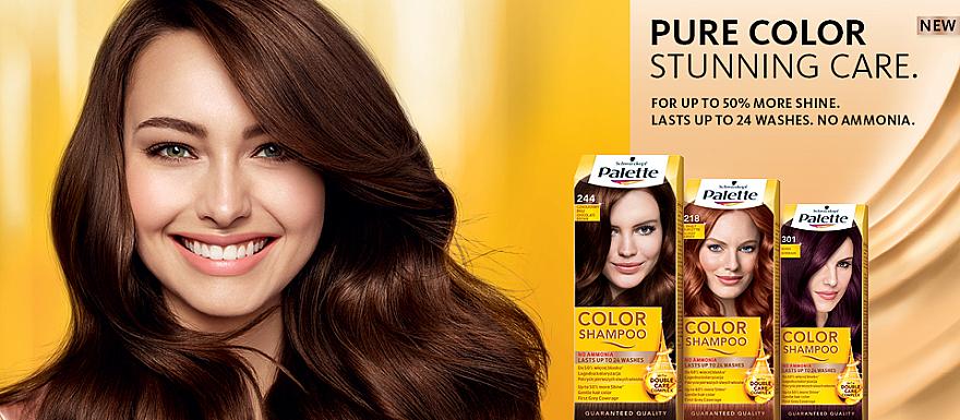 PRZECENA! Szampon koloryzujący - Schwarzkopf Palette Color Shampoo * — фото N5