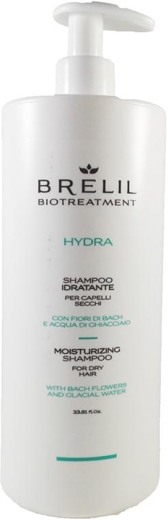 Nawilżający szampon do włosów suchych - Brelil Bio Treatment Hydra Moisturizing Shampoo For Dry Shampoo — фото N2