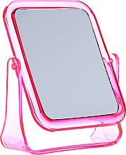 Kup Lusterko kosmetyczne kwadratowe, 5282, różowe - Top Choice