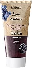 Kup Regenerujący peeling-marmolada do twarzy - Oriflame Love Nature Dark Berries Delight Face Scrub Marmalade