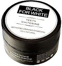 Wybielający proszek do zębów z węglem aktywnym - Biomika Black For White Teeth Whitening — фото N2