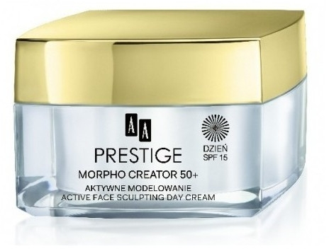 Krem do twarzy na dzień - AA Prestige Morpho Creator 50+ Active Face Sculpting Day Cream SPF15 — фото N1
