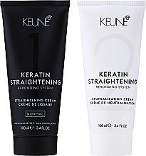 Kup Keratyna w kremie do włosów - Keune Keratin Straightening Rebonding System Normal