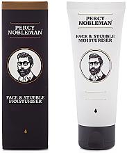 Kup Nawilżający krem do twarzy i zarostu - Percy Nobleman Face & Stubble Moisturiser