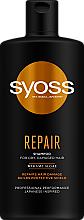 Kup Odżywczy szampon do włosów suchych i zniszczonych Algi - Syoss Repair Shampoo