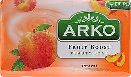 Kup Mydło w kostce do rąk Brzoskwinia - Arko Fruit Boost Beauty Soap Peach