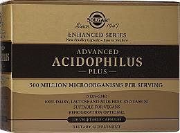Kup Suplement diety dla mikroflory jelitowej - Solgar Advanced Acidophilus Plus Vegetable Capsules