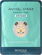 Kup Maseczka na tkaninie do twarzy Baran - Bioaqua Animal Sheep Nourish Mask