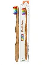 Kup Bambusowa szczoteczka do zębów, tęczowa - The Humble Co. Proud Rainbow Soft Toothbrush
