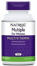 Kup Multiwitaminy dla kobiet - Natrol Multiple for Women Multivitamin