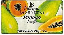 Kup Mydło naturalne w kostce Papaja - Florinda Papaya Natural Soap