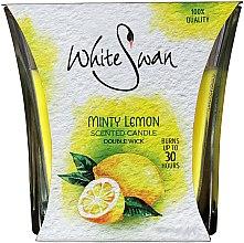 Kup Świeca zapachowa Mięta i cytryna - White Swan Lovely Minty Lemon