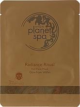 Kup Rozświetlająca maska do twarzy w płachcie - Avon Planet Spa Radiance Ritual Foil Face Mask