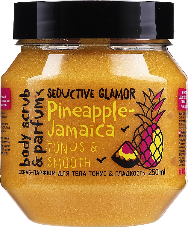 Peeling do ciała - MonoLove Bio Pineapple-Jamaica Tonus & Smoothness Scrub