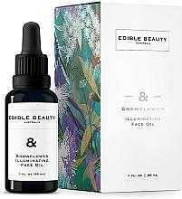 Kup Rozjaśniający olejek do twarzy - Edible Beauty Snowflower Illuminating Face Oil