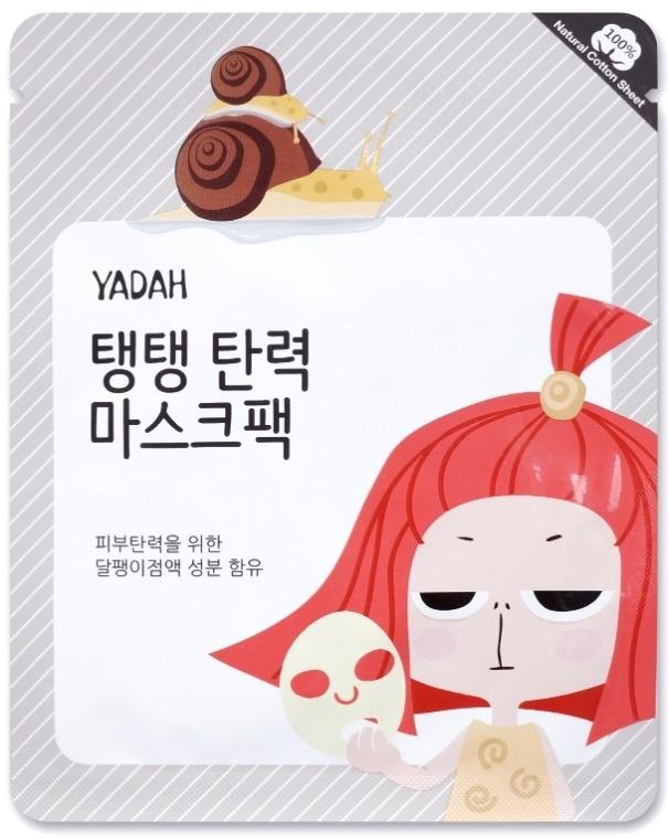 Kolagenowa maska do twarzy w płachcie ze śluzem ślimaka - Yadah Collagen Mask Pack — фото N1