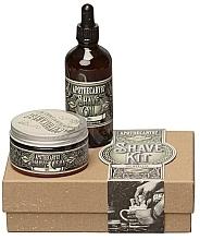 Kup Zestaw - Apothecary 87 Shave Kit (sh/cream/50ml + sh/oil/50ml)