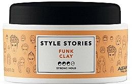 Kup Pomada do stylizacji włosów, mocno utrwalająca - Alfaparf Style Stories Funk Clay Strong Hold