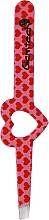 Kup Pęseta do brwi, różowa z czerwonymi serduszkami - Glamtech Valentines Tweezer