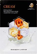 Kup Kremowa maseczka do twarzy w płachcie - Rainbow L'Affair Royal Jelly Bio Cellulose Mask