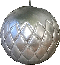 Kup Świeca dekoracyjna srebrna kula, 12cm - Artman Florence