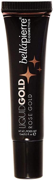 Rozświetlacz w płynie do twarzy - Bellapierre Cosmetics Liquid Gold Illuminating Fluid — фото N1