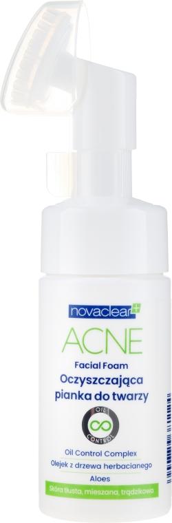 Pianka do mycia twarzy - Novaclear Acne Facial Foam