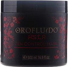 Kup Odżywcza maska do włosów puszących się - Orofluido Asia Zen Control Mask