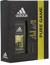 Kup Adidas Pure Game - Zestaw (deo/spray 75 ml +sh/gel 250 ml)