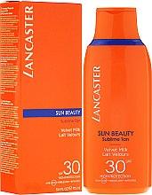 Kup Delikatne mleczko przedłużające trwałość opalenizny SPF 30 - Lancaster Sun Beauty Velvet Milk Sublime Tan