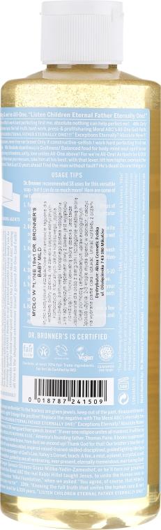 Mydło w płynie dla dzieci - Dr. Bronner's 18-in-1 Pure Castile Soap Baby-Mild — фото N6
