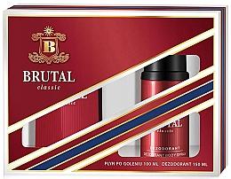 Kup La Rive Brutal Classic - Zestaw (ash/lot 100 ml + deo spray 150 ml)