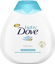 Zestaw dla dzieci - Dove Baby Rich Moisture (lot/200ml + b/wash/200ml + cr/45g) — фото N4
