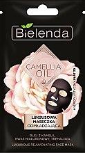 Kup Luksusowa maseczka odmładzająca w hydroplastycznym płacie 3D - Bielenda Camellia Oil