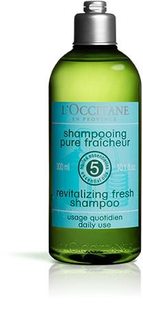 Rewitalizujący szampon do włosów - L'Occitane Aromachologie Revitalising Fresh Shampoo — фото N2
