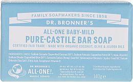 Kup PRZECENA! Mydło w kostce dla dzieci - Dr. Bronner's Pure Castile Bar Soap Baby-Mild *