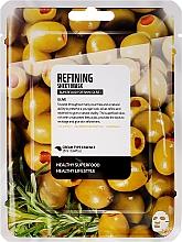 Kup Odnawiająca maska na tkaninie do twarzy Oliwka - Superfood For Skin Refining Sheet Mask