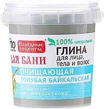 Kup Bajkalska glinka niebieska do twarzy, ciała i włosów - FitoKosmetik