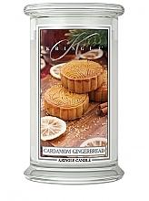 Kup Świeca zapachowa w słoiku - Kringle Candle Cardamom Gingerbread