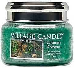 Kup Świeca zapachowa w słoiku - Village Candle Cardamom & Cypress