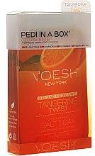 Kup Zestaw do pedicure Mandarynka - Voesh Deluxe Pedicure Tangerine Twist Pedi In A Box 4 in 1
