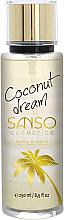 Kup Kokosowa mgiełka do ciała - Sanso Cosmetics Coconut Dream Body Spray
