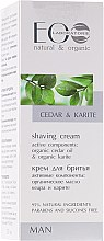 Krem do golenia Cedr i karite - ECO Laboratorie Man's Shaving Cream Cedar & Karite  — фото N1