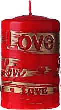 Kup Czerwona świeca dekoracyjna, 7 x 10 cm - Artman Lovely
