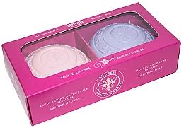 Kup Zestaw mydeł Róża i lawenda - Gori 1919 Floreal Rose & Lavender (soap/2 x 150 g)