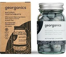 Kup Naturalne tabletki do mycia zębów Węgiel aktywny - Georganics Natural Toothtablets Activated Charcoal
