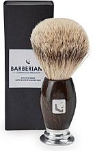 Kup Pędzel do golenia z włosia borsuka - Barberians. Shaving Brush Silver Tip