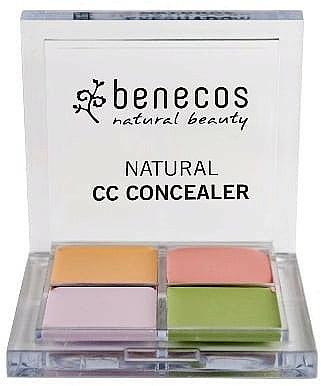 Paleta korektorów do twarzy - Benecos Natural CC Concealer — фото N1
