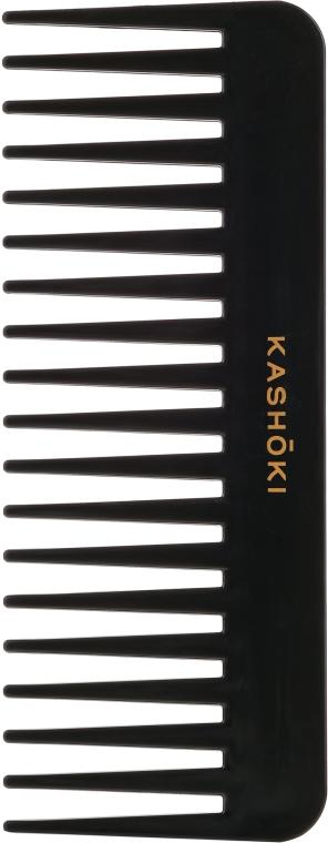 Grzebień do gęstych i kręconych włosów, 382 - Kashoki